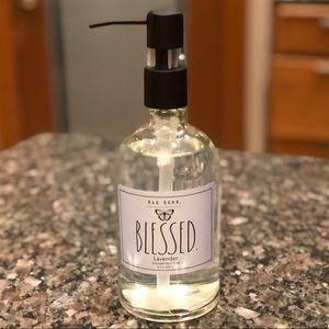Rae Dunn BLESSED Lavender Scented Hand Soap